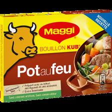 Cubes de bouillon goût pot au feu MAGGI, 18 tablettes, 180g