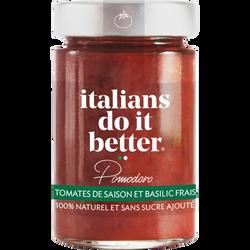 Sauce pomodoro ITALIANS DO IT BETTER, 190g