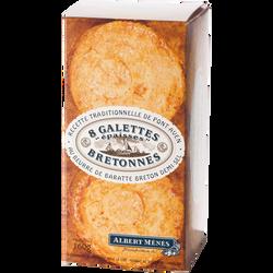 Galettes épaisses Bretonnes au beurre demi sel ALBERT MENES, 160g