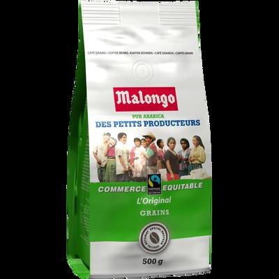 Café en grains petits producteurs MALONGO, 500g