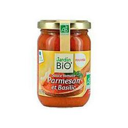 Sauce tomate parmesan et basilic JARDIN BIO, bocal de 200g