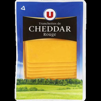 Cheddar au lait pasteurisé, fromage à pâte pressée non cuite U, 34,70%de MG, 200g