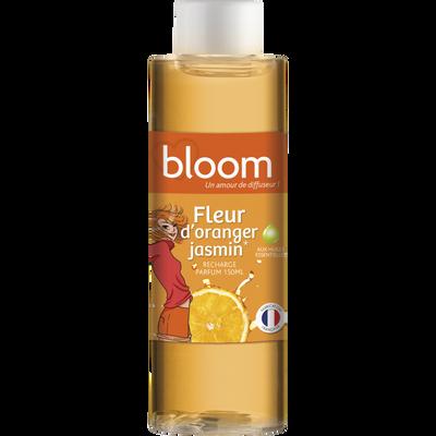 Recharge coloré pour diffuseur de parfum, à froid, fleur d'oranger ylang 150ml
