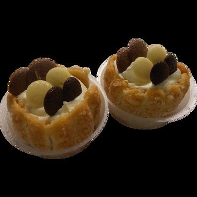 Charlotte aux 3 chocolats, 2 pièces, 200g