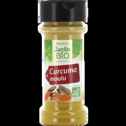 Curcuma moulu JARDIN BIO, pot en verre de 30 g