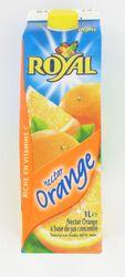 Nectar orange a base de jus concentre, ROYAL 1l