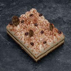 Tiramisu, décongelé, 1 pièce, 100g