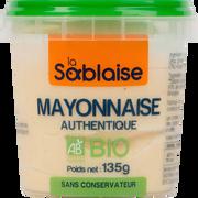 La Sablaise Mayonnaise Authentique Bio La Sablaise, 135g