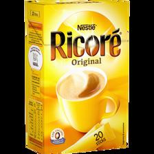 Café et chicorée instantanée RICORE, 20 sticks, 60g