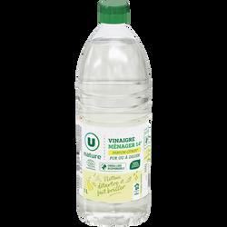 Vinaigre ménager parfum citron 14° U NATURE 1l.