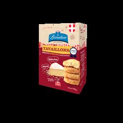 Biscuit apéritif Reblochon sésame BISCUITERIE ARTISANALE, boite 100g