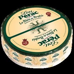 Lou Perac bleu au lait pasteurisé de brebis 34% Mat.Gr.