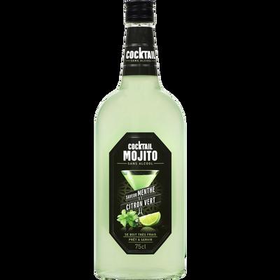 Cocktail sans alcool mojito U, bouteille de 75cl