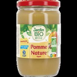Dessert biofruit pomme nature bio JARDIN BIO 680g