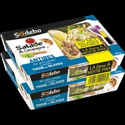 Salade d Antibes SODEBO, 2x320g + 1cookie