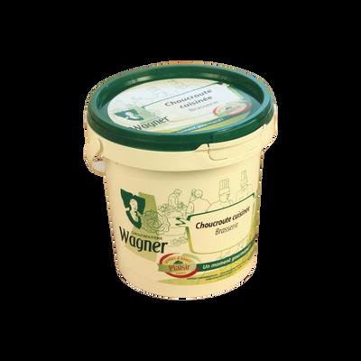 Choucroute cuisinée brasserie WAGNER, 1kg
