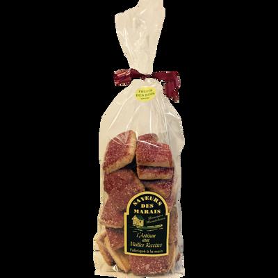 Sablés fruits des bois l'artisan aux vieilles recettes SAVEURS DES MARAIS, 200g