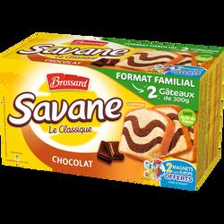 Savane l'Original au Chocolat BROSSARD, 2 paquets de 600g
