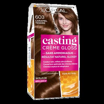 L'Oréal Coloration Ton Sur Ton Casting Crème Gloss Caramel Tendre, N° 603