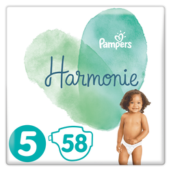 Couches active fit maxi PAMPERS, taille 4, 8 à 16kg, paquet de 24