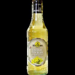 Vinaigre de vin blanc du Sud Ouest TETE NOIRE, 6°, bouteille de 50cl