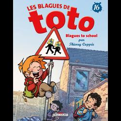 Les blagues de Toto tome 16-blagues to school