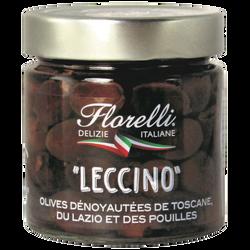 FLORELLI LECCINO (olives denoyautées) 185g