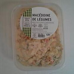 Macédoine de légumes 500gr BREDIAL