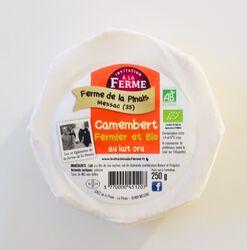 Camembert fermier BIO au lait cru, LA FERME DE LA PINAIS