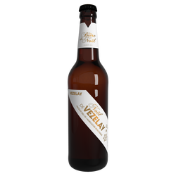 Bière blanche Brasserie de Vézelay pur malt bio 6°, bouteille de 50cl