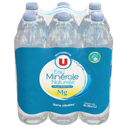 Eau minérale naturelle Magnésienne Saint Antonin, U, 6 bouteilles de 1l