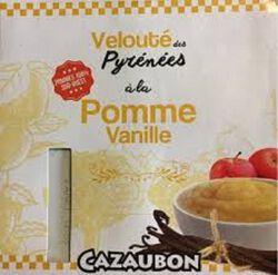 VELOUTÉ DE POMME VANILLE X4 CAZAUBON