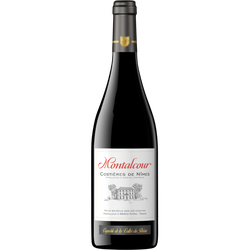 Vin rouge AOP Costières de Nîmes Montalcour, 75cl