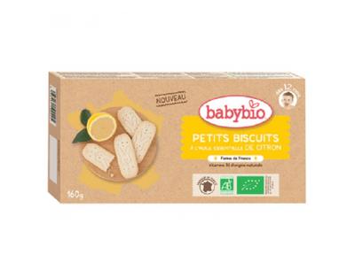 PTS BISCUITS HUILE ESS. CITRON, BABYBIO Etui de 20 biscuits dès 12 mois