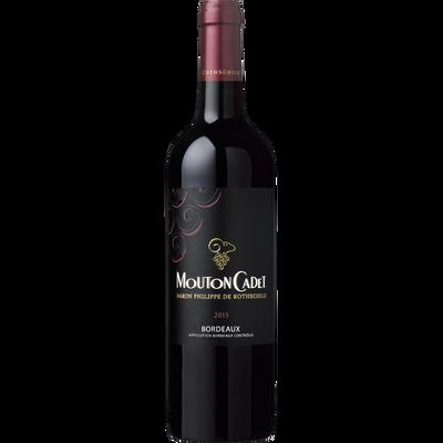 Vin rouge AOP Bordeaux Mouton Cadet, 75cl
