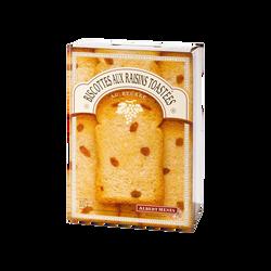 Biscottes aux raisins toastées pure beurre ALBERT MENES,200g