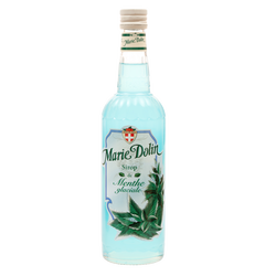 Sirop de menthe glaciale MARIE DOLIN, bouteille de 70cl