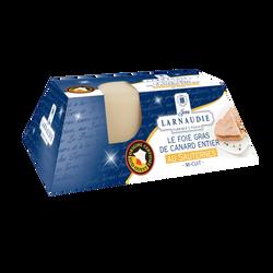 Foie gras canard entier IGP Sud Ouest le gout lingot JEAN LARNAUDIE180g