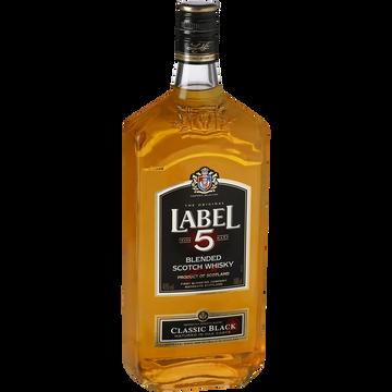Label 5 Blended Scotch Whisky Label 5, 40°, 1l