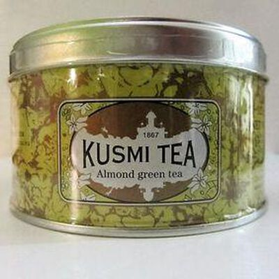 Thé vert de Chine à l'amande KUSMI TEA ,125g