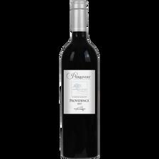 Vin rouge Côteaux de Pierrevert, bouteille de 75cl