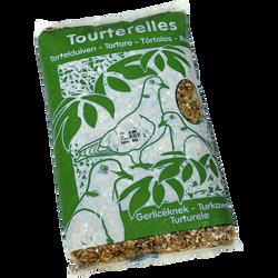 Mélange de graines pour tourterelles, sac de 1kg