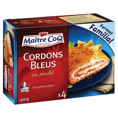 CORDON BLEU POULET 400G