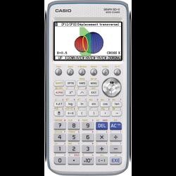Calculatrice CASIO GRAPH90, mode examen intégré, pour sections S,ES, Lycée, études sup, conforme 2018, écran 8 lignes, 21 caractères, contraste, rétro éclairé, mémoire Flash 1,5M