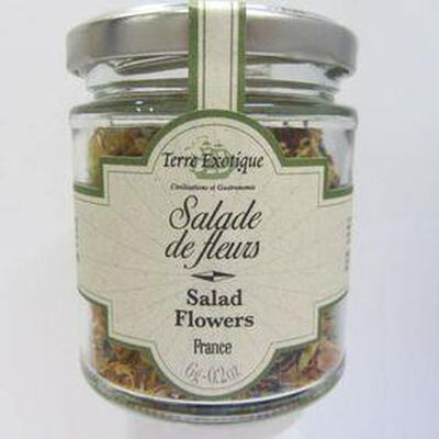 Salade de fleurs TERRE EXOTIQUE ,6g