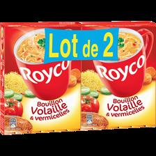 Royco Bouillon Volaille/vermicelles  Minute Soup'2x60cl 1,20l