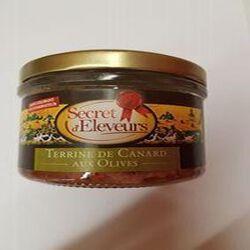 Terrine de canard au olives, 180g