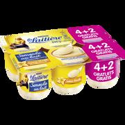 Nestlé Semoule Au Lait Saveur Vanille La Laitiere, 4x115g + 2 Pots Offerts