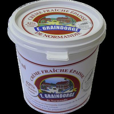 Crème fraîche 42% de MG GRAINDORGE, 75cl
