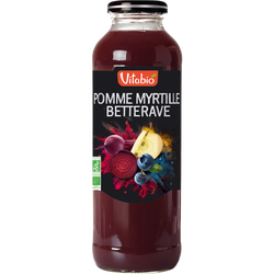 Cocktail pomme, myrtille et betterave VITABIO, 50cl